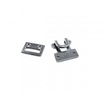 20 mm Frog fastening - hook-and-eye fastener E 1796