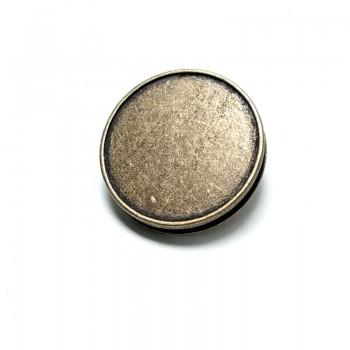 Pedestal Button Metal B 109