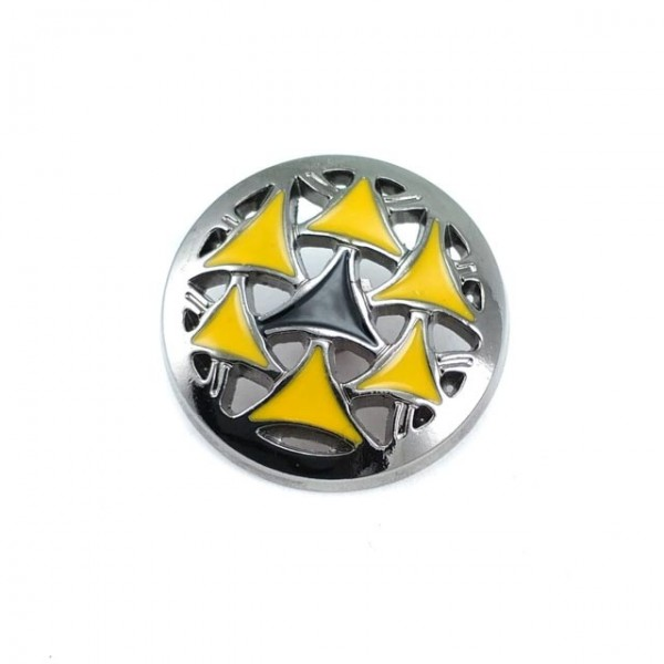 Sewing foot metal button button 27 mm B 123