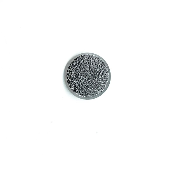 23 mm Patterned Footed metal button - 36 lignes B 15