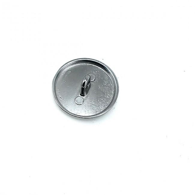 23 mm Desenli Ayaklı metal düğme - 36 lignes B 15