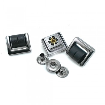 17 x 20 mm Plastic and Metal Snap Button CPC 1