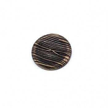 Tree Trunk Design Metal Foot Button 28 mm - 44 size E 1041