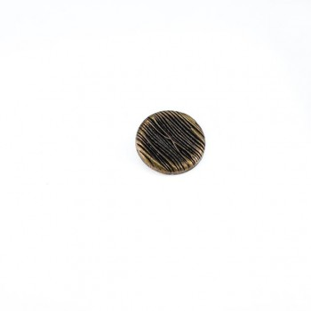 Tree Trunk Design Metal Foot Button 23 mm - 37 size E 1042