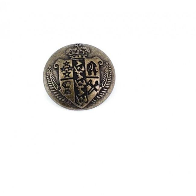 23 mm Orta Çağ Tasarımlı Ayaklı düğme Metal E 1050