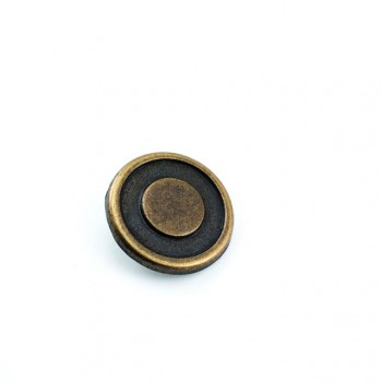 Blazer jacket and leather coat button 25 mm - 41 L -  E 1086