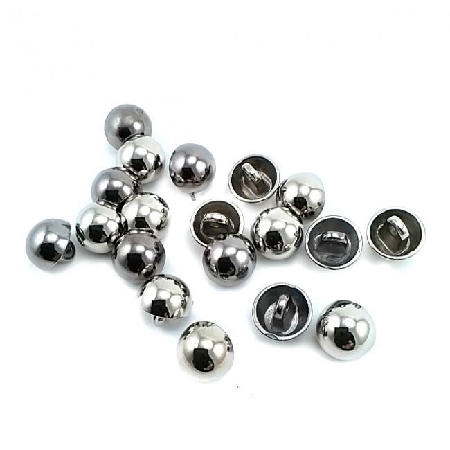 11 mm - 18 boy Metal Ayaklı Top Düğme E 1092