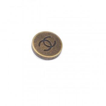 24 mm - 39 size Chanel Metal Shank Button E 1136