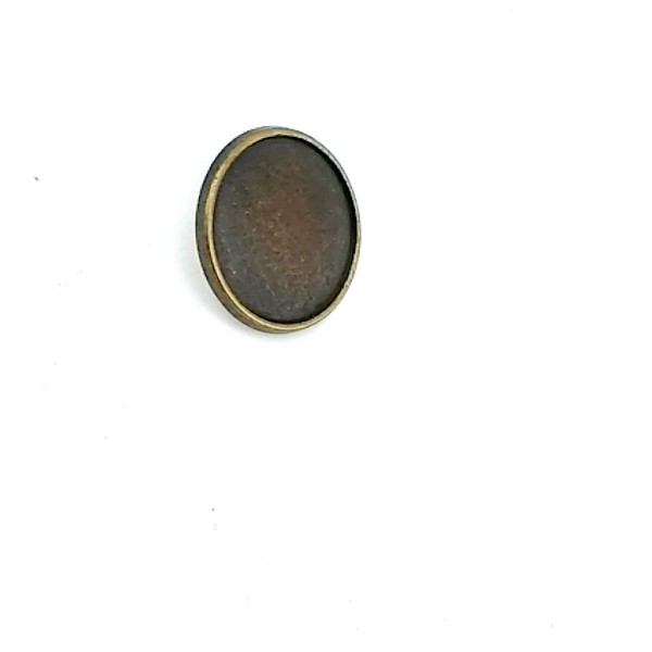 15 mm - 24 size Classic Metal Footed Button E 1156