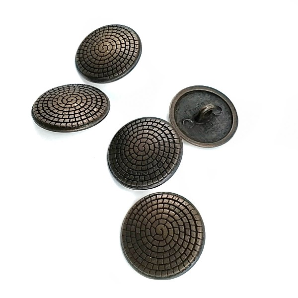 20 mm - 32 length Spiral Pattern Shank Button E 119