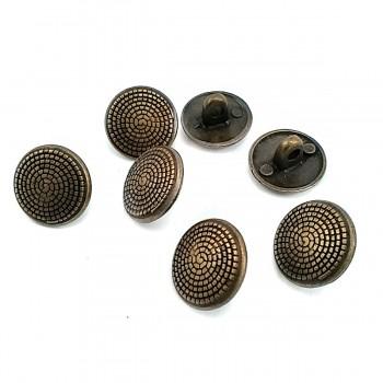 15 mm - 24 L Spiral Pattern Shank Button E 120