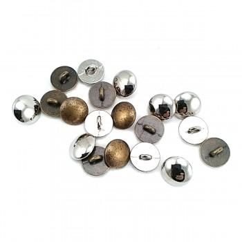 12 mm - 19 size Half Sphere Design Metal Foot Button E 1214