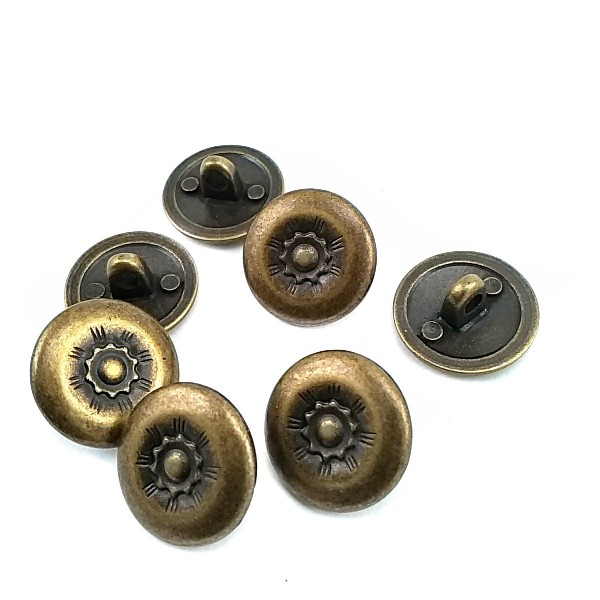 17,5 mm 28 L Patterned Jacket and Outerwear Shank Button E 126