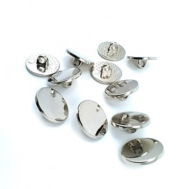 15 mm - 24 boy Düz Ayaklı Metal Düğme E 1283
