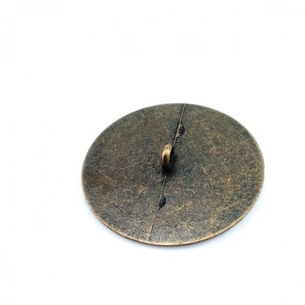 Patterned Sewing Footed button 39 mm - 64 lignes E 129