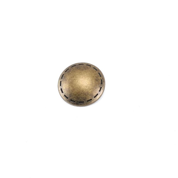 Patterned Edges Footed Button 25 mm - 40 length E 1331