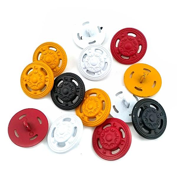 Stylish Pattern Bottom Sewing Button 22.5 mm - 36 size E 136