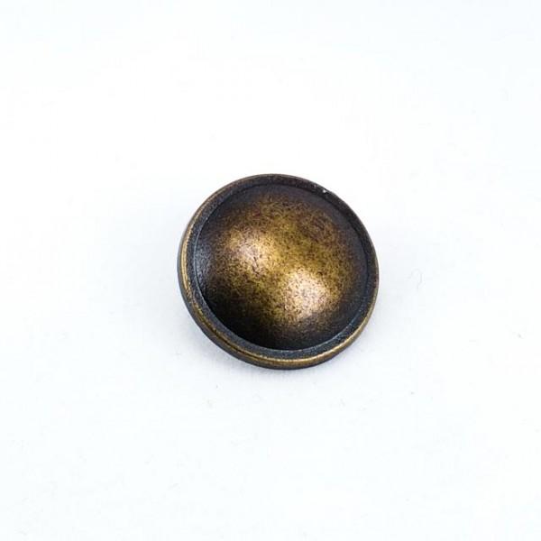21 mm -34 size Convex Leg Metal Button E 1376