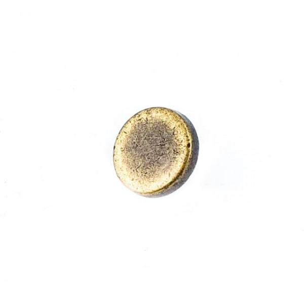 10 mm - 16 size Flat Structure Metal Foot Button E 1379