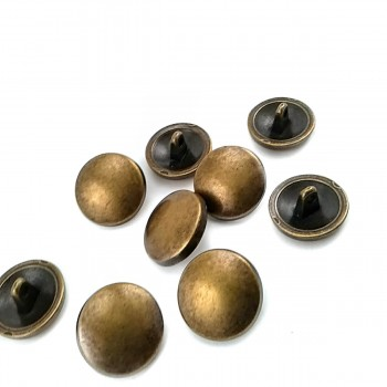 18 mm - 28 size Round Button with Pattern and Foot E 1394