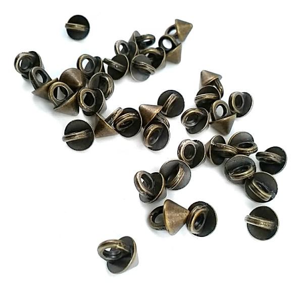 Taper Foot Button 6.5 mm - 11 size E 1399