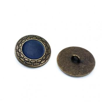 27 mm - 43 size Enamelled metal jacket button E 151