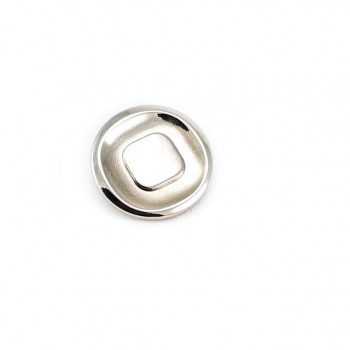 Stylish-footed metal button 24 mm - 38 lignes E 1601