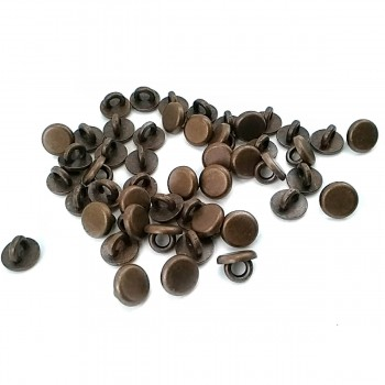 7.5 mm - 10 size Plain Bottom Sewing Button E 1619