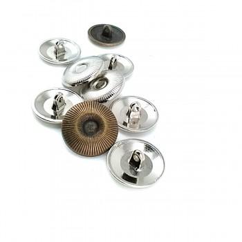 Pedestal metal button 21 mm -32 lignes E 1643