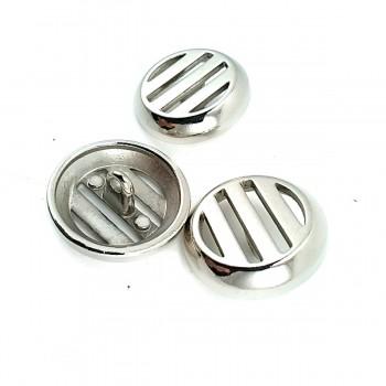 Pedestal button metal aesthetic design 22 mm - 36 lignes E 1645...