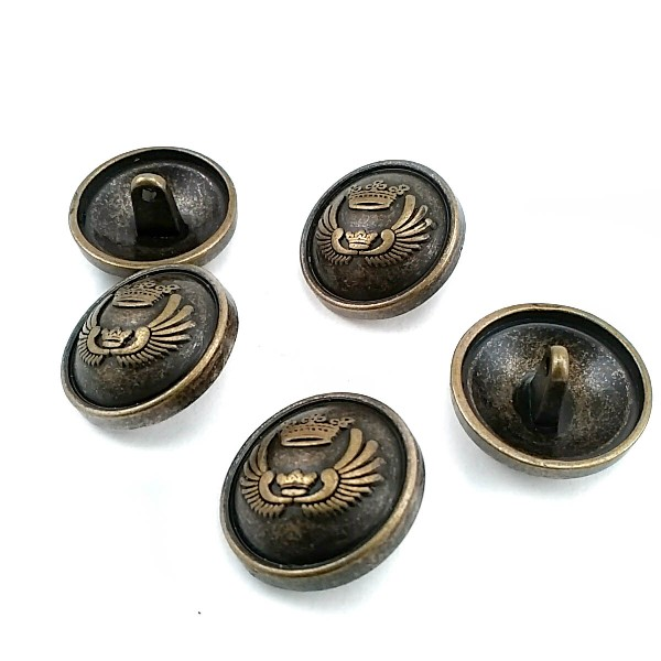 23 mm - 36 size Blazer Button with Shank E 1653