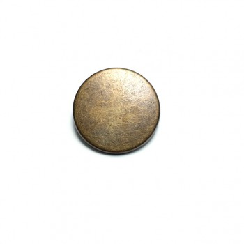 30 mm - 48 size Round plain metal footed button E 1934