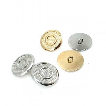 22 mm 36 L Ring Pattern Shank Metal Button E 1949