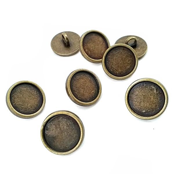 15 mm - 24 L Enamel Metal Shank Button E 1998