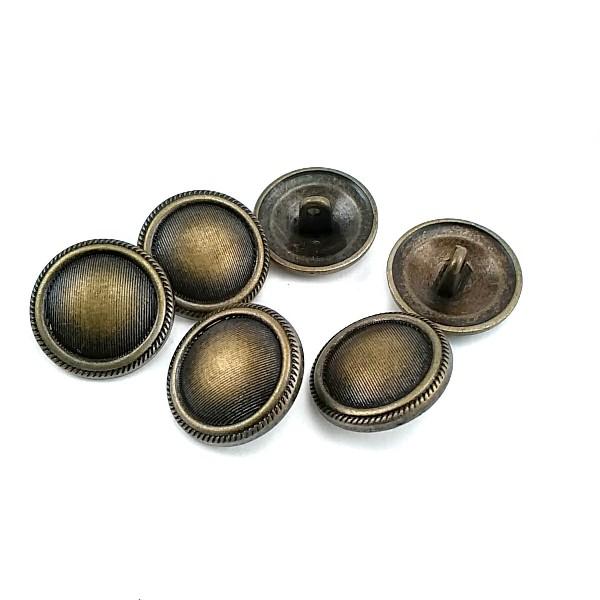 Button with Plain Edges Patterned 20mm - 31 size E 2003