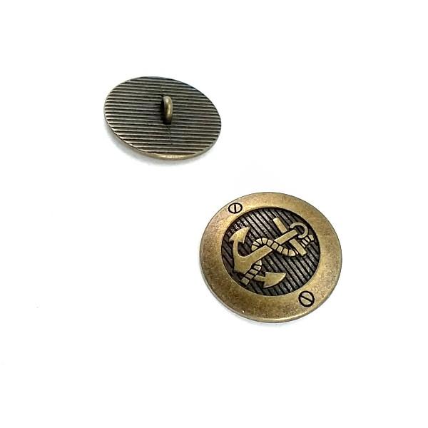 23 mm - 36 L  Anchor Logo Shank Button E 2043