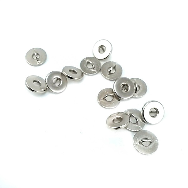 7 mm - 11 L Bagel Shape Shank Button E 2112