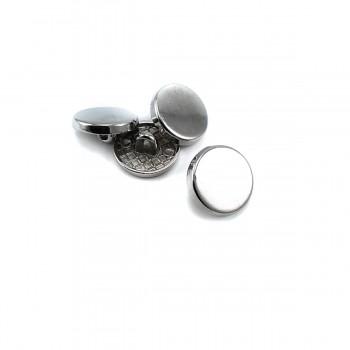14 mm - 22 size Plain bottom button E 2136