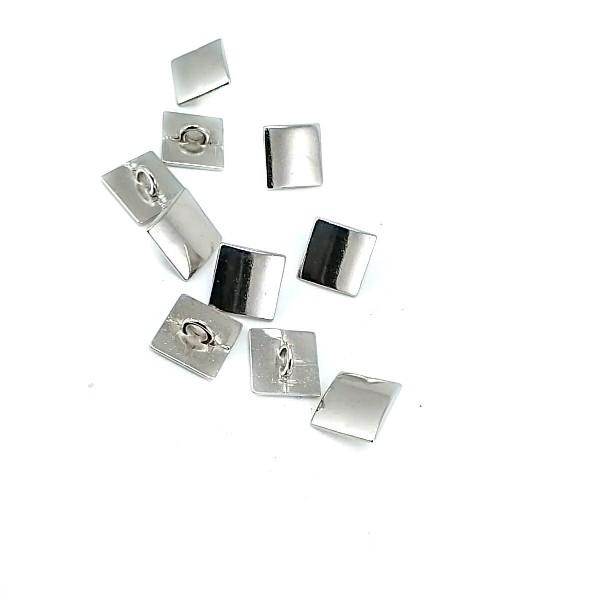 Simple Foot button zamak 12 x 12 mm E 229