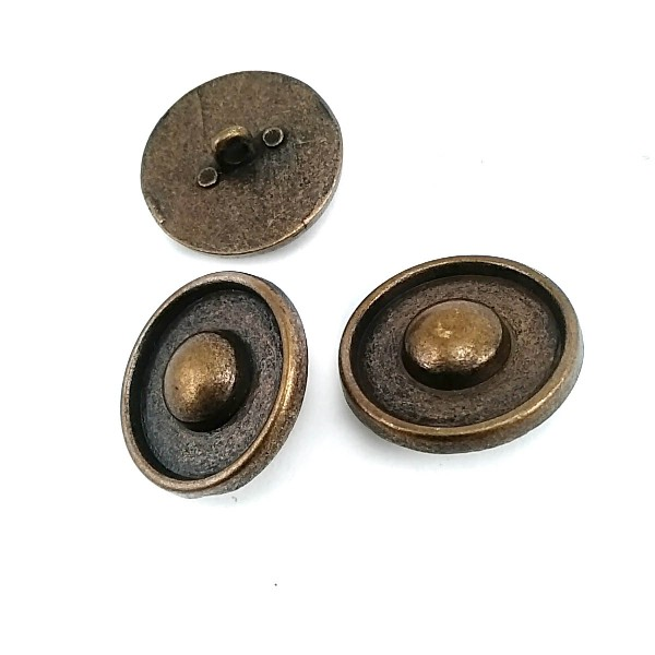 Dotted Metal Foot Button 26 mm - 41 size E 231