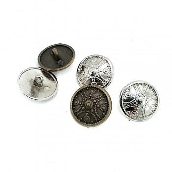 Blazer Design Metal Shank Button 20 mm - 34 size E 313