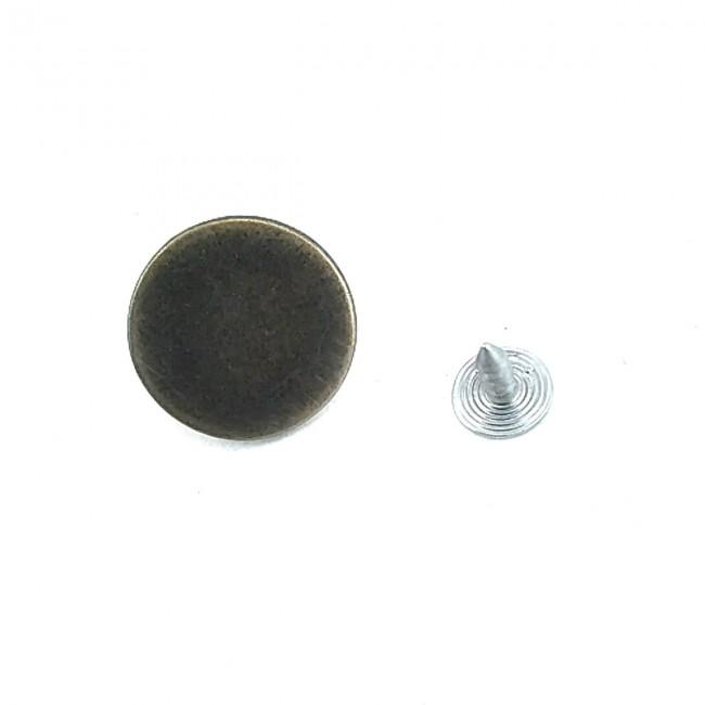 20 mm - 32 Boy Düz Para Şekil Kot Düğmesi E 396