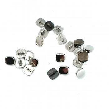 Plain Square Button 9 x 9 mm E 662