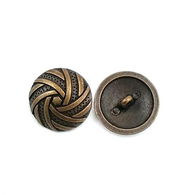Girdap Desenli dikme Ayaklı düğme  25 mm - 40 boy E 698