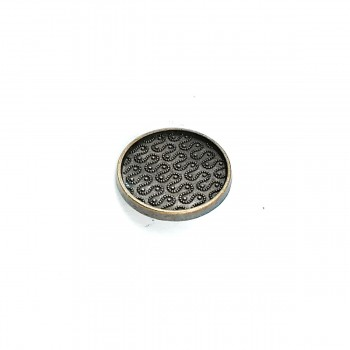 Aesthetic Metal Footed Button 28 mm - 44 size E 730