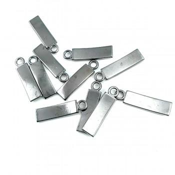 30 mm x 7 mm Classic Zipper Puller E 80
