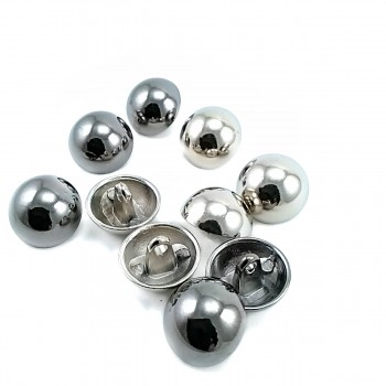 16 mm - 26 size Half Sphere Shaped Footed Button E 90