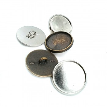 23 mm Simple Design Foot button Metal E 915
