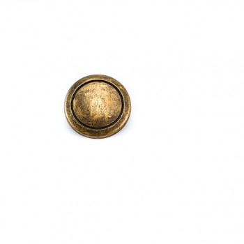 18 mm - 29 size Simple Metal Footed Button E 949