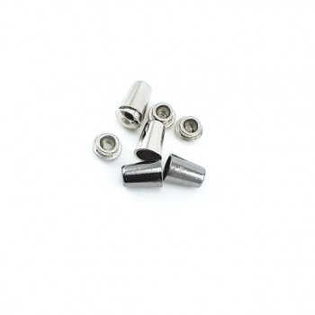 E 103 Metal cord tip diameter 5 mm length 11 mm With cover
